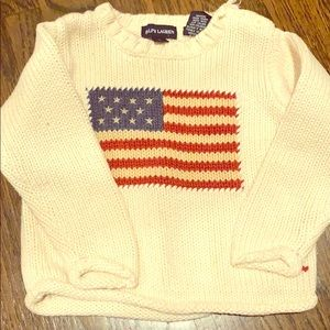 Ralph Lauren Polo flag sweater 2t